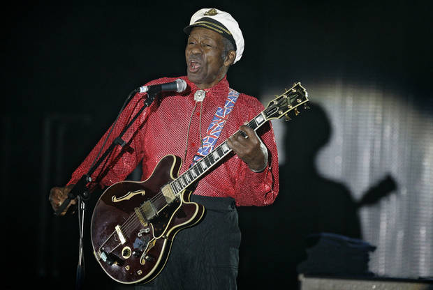 Key dates in the life of rock 'n' roll visionary Chuck Berry