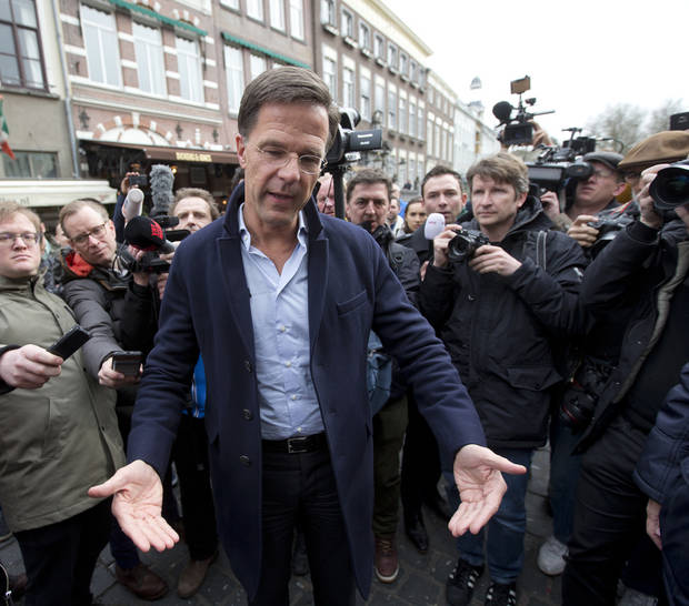 Dutch PM Mark Rutte, a traditional Dutch consensus builder