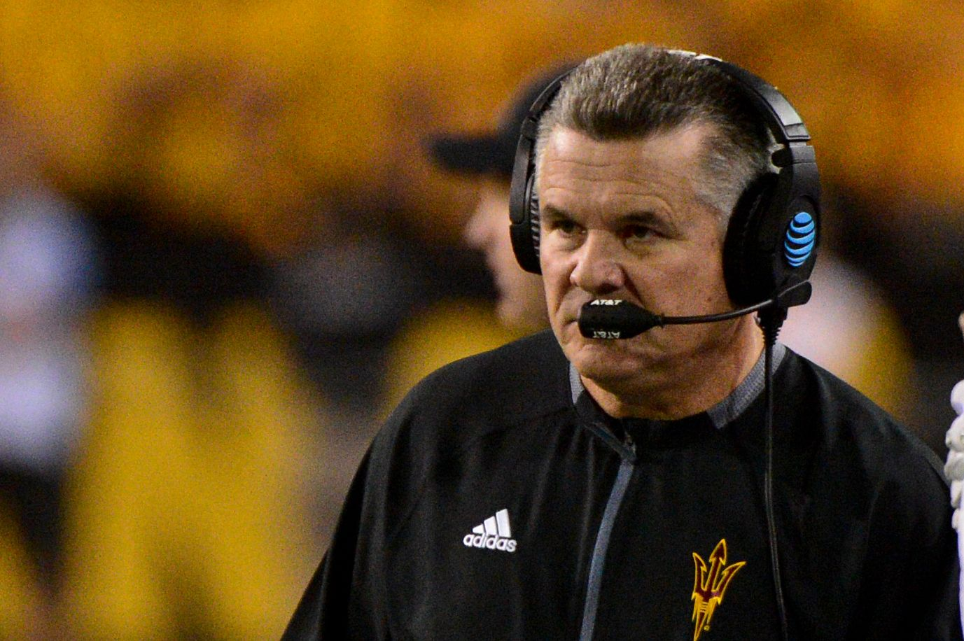 Arizona State coach Todd Graham believes he will be fired