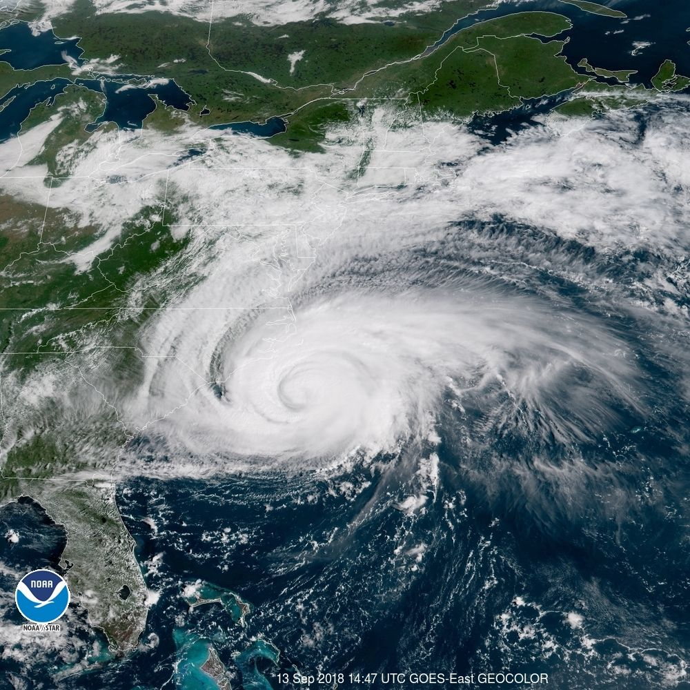 Hurricane Florence path: Where the monster storm is now, where it's going