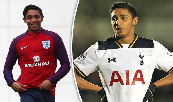 Who is Dylan Duncan? Tottenham youngster trains with England squad