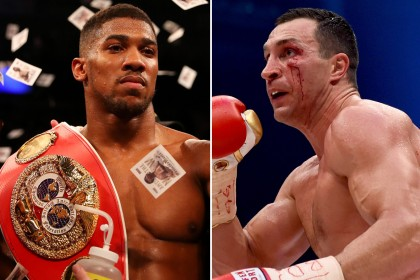 Joshua vs Klitschko: How many belts will be up for grabs?
