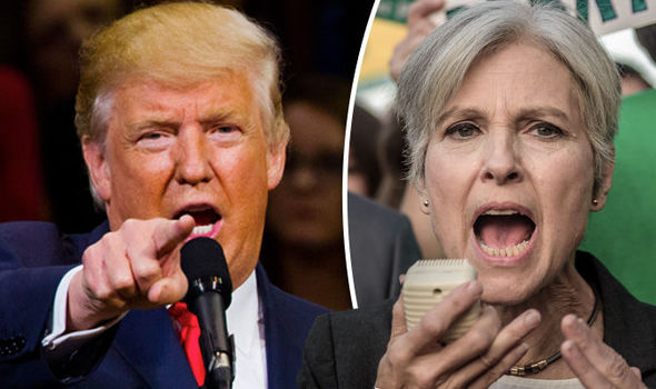 'It is a SCAM by the Green Party!' Trump SLATES Jill Stein's election recount plan
