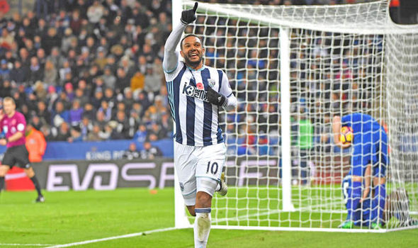 Leicester 1 - West Brom 2: Matt Phillips pushes champions towards relegation zone