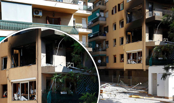 BREAKING: Explosion in block of flats in Barcelona kills one and injures 15