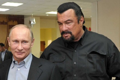 Steven Seagal named as US envoy by Russia