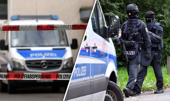 GERMANY TERROR: Police arrest man as hunt for suspected Syrian bomber continues
