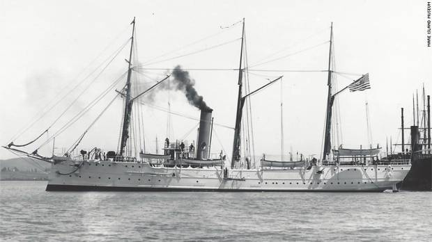 100-year-old shipwreck found off coast