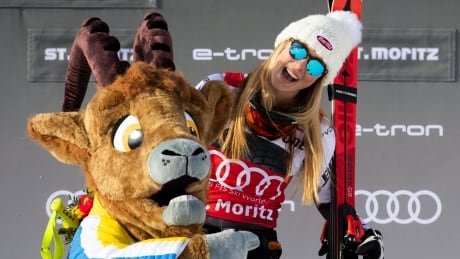 Mikaela Shiffrin moves up all-time wins list with super-G gold