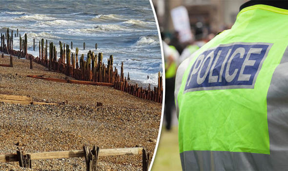 Woman raped on UK beach and two CHILDREN are among suspects