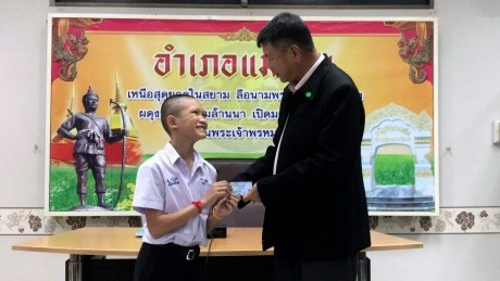 Soccer coach, 3 players from cave ordeal granted Thai citizenship