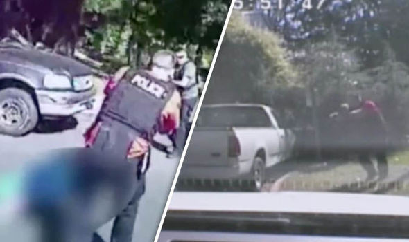 North Carolina police releases footage of Keith Lamont Scott's shooting