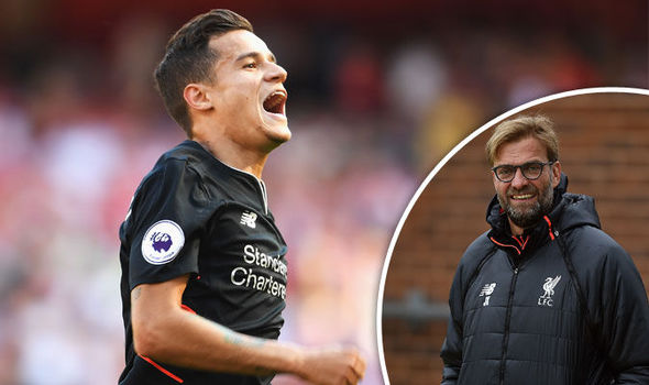 Philippe Coutinho: How Jurgen Klopp has made Liverpool into title challengers this season