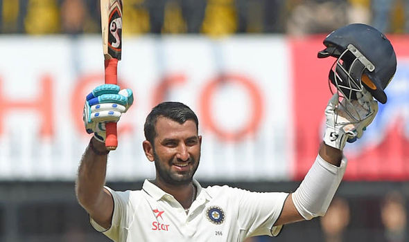 Cheteshwar Pujara leads India fightback but England strike late on day three of first Test