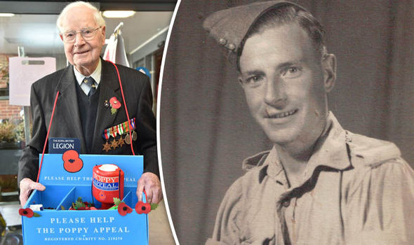 World War Two veteran could be the OLDEST poppy at 101