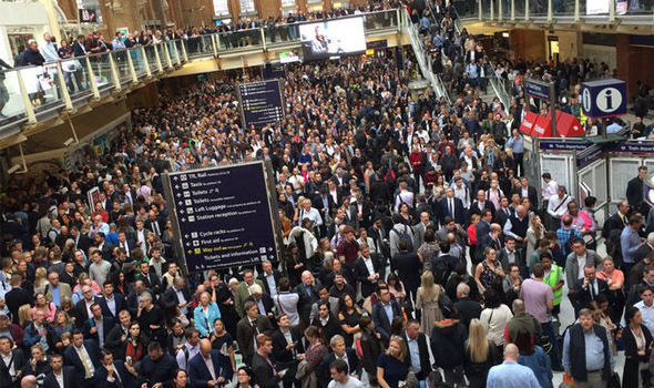 BREAKING: London's Liverpool Street brought to standstill after person hit by train
