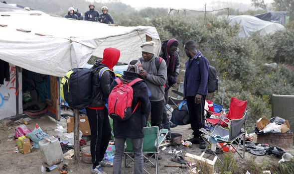 BREAKING: 'The jungle is not dead' Migrants return to Calais jungle camp
