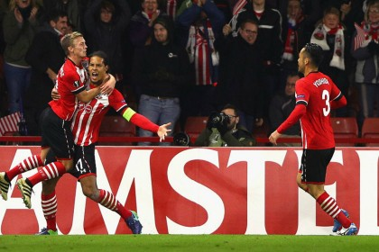 Southampton celebrate fairytale victory over Inter Milan