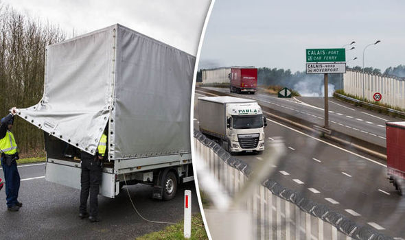 Dead migrant found in back of lorry in Kent after being CRUSHED by catalogues