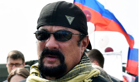 MUSCLES FROM MOSCOW? Steven Seagal granted Russian citizenship by 'brother' Vladimir Putin