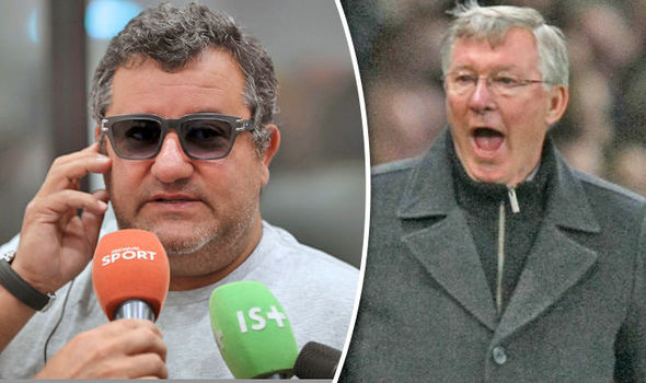 Mino Raiola: This is what Sir Alex Ferguson said when Paul Pogba left Manchester United