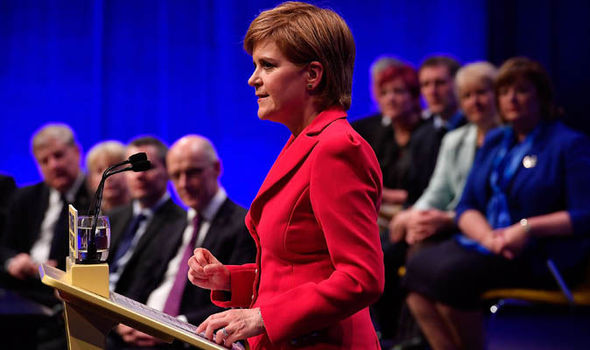 Sturgeon vows to call second independence referendum if UK opts for 'Hard Brexit'