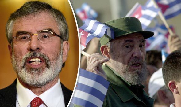 Gerry Adams 'PROUD' to attend Fidel Castro's funeral - but will CORBYN join him?