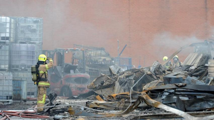 Residents and union demand action after fourth toxic fire in three years