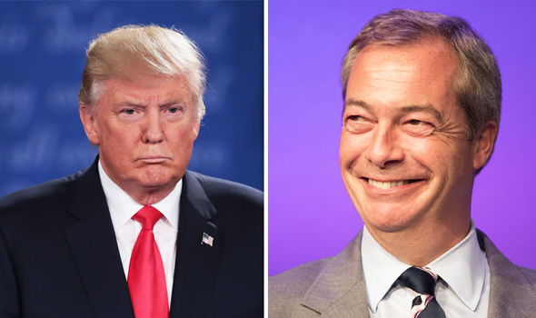 Donald Trump 'was like a silverback gorilla' who 'DOMINATED' Hillary Clinton, says Farage
