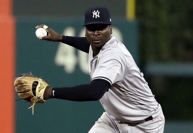 MLB Notebook: Gregorius needs Tommy John surgery