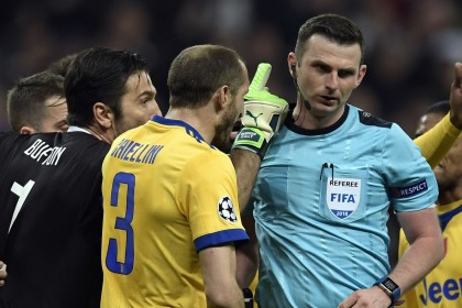 Champions League: Uefa condemns abuse of referee Michael Oliver