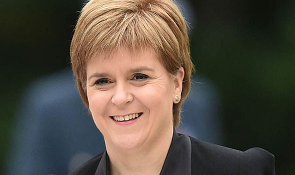 SNP leader Nicola Sturgeon could call for a second Scottish independence referendum