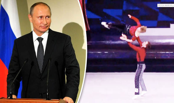 Putin's daughter struts her stuff in Moscow dance competition