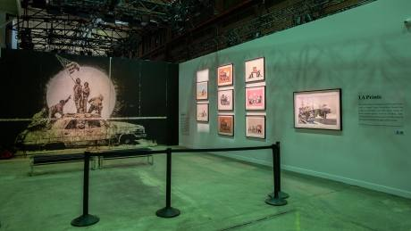 Banksy artwork reportedly stolen from Toronto exhibit