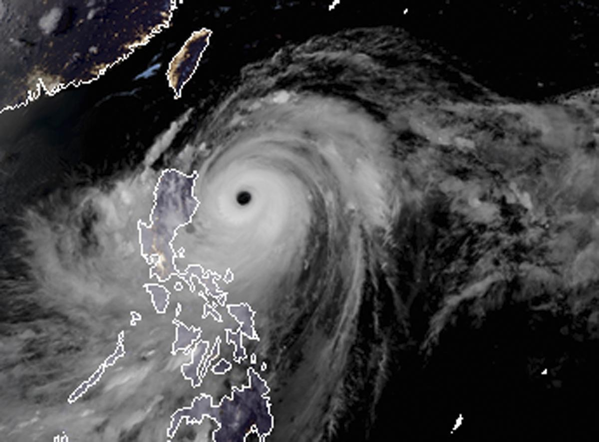 Monster typhoon barrels closer to north Philippines, China