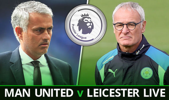 Manchester United v Leicester LIVE: Follow all the action at Old Trafford