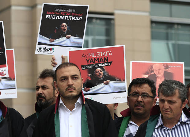 Detained human rights activists face charges in Turkey