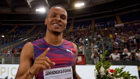 Just how good was Andre De Grasse's wind-aided 9.69?