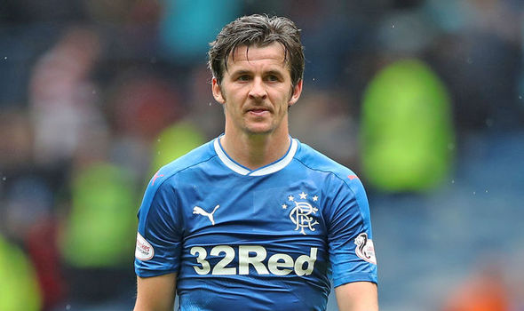Rangers boss Mark Warburton speaks out on Joey Barton as midfielder remains suspended