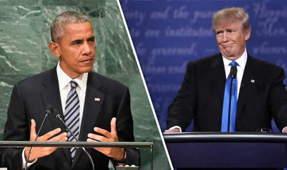 Donald Trump WILL continue to fund NATO, President Obama says