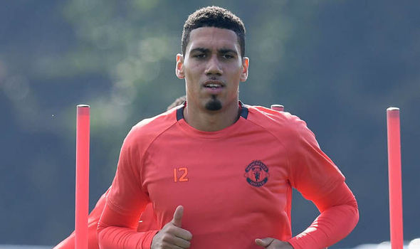 Chris Smalling gets police escort to airport after drug test nearly makes him miss flight