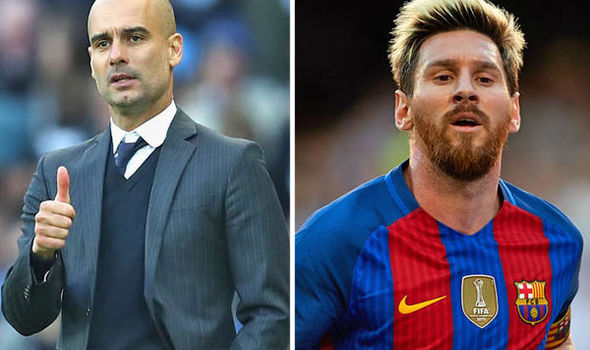 Pep Guardiola wants Lionel Messi to join Manchester City if he decides to leave Barcelona