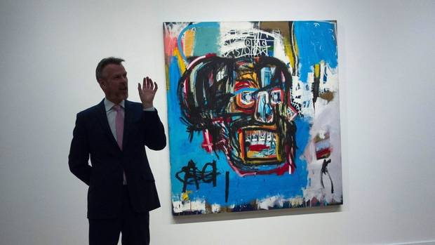 At $110.5 Million, Basquiat Painting Becomes Priciest Work Ever Sold By A U.S. Artist