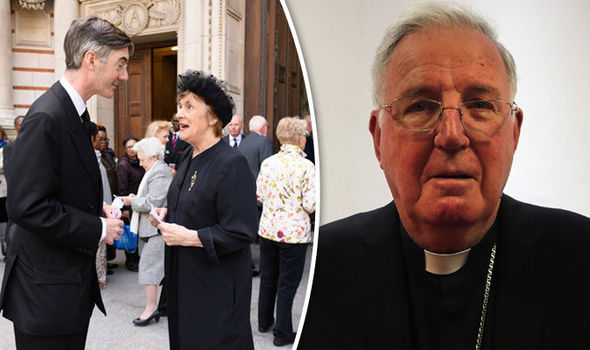 Cardinal Cormac Murphy-O'connor buried today at Westminster Cathedral