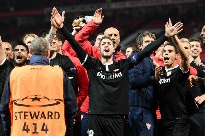 Champions League: Mourinho criticised after Sevilla stun Manchester United