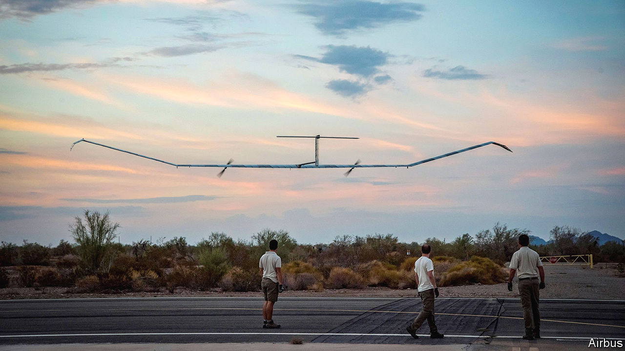A high-flying drone sets an endurance record