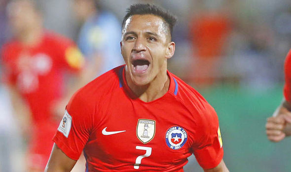 Arsenal star Alexis Sanchez receives the highest praise following Chile heroics