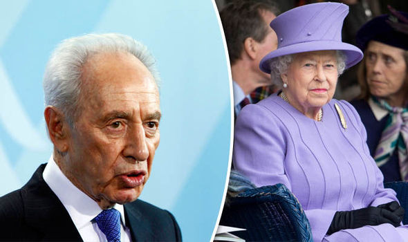 Queen leads tributes Israel's former Prime Minister Shimon Peres