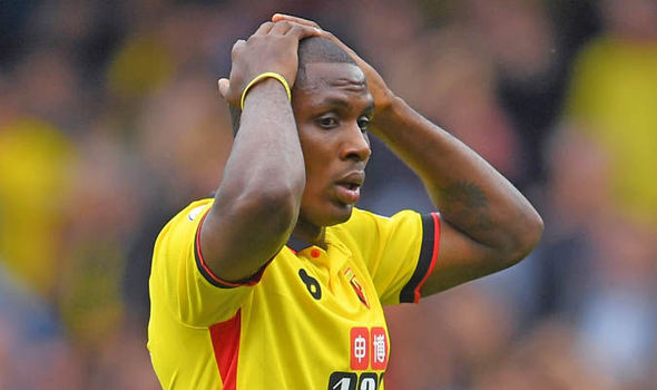 Watford boss Walter Mazzarri speaks out on future of struggling star Odion Ighalo
