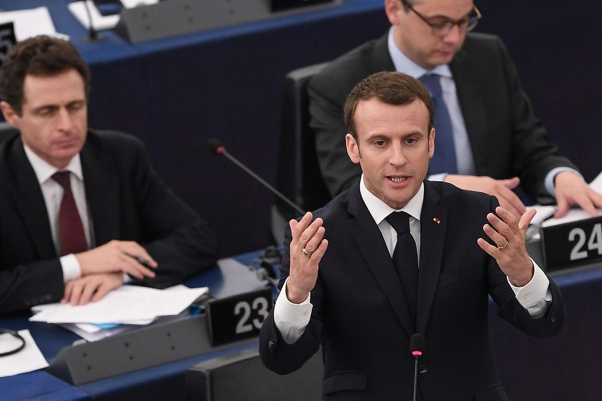 Emmanuel Macron says EU must reform to fight rising nationalism